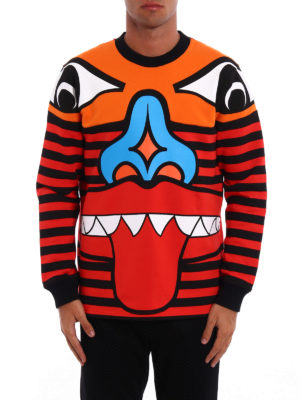 Givenchy: Sweatshirts & Sweaters online - Totem print cotton sweatshirt