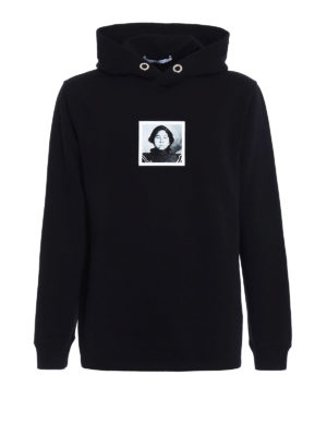 Givenchy: Sweatshirts & Sweaters - Red Woman print hoodie