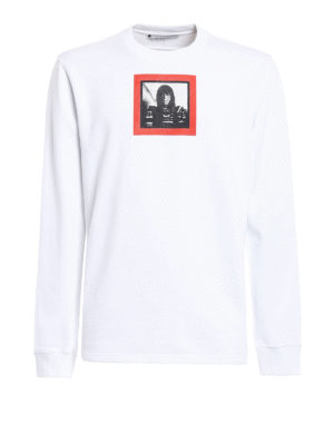Givenchy: Sweatshirts & Sweaters - Red Woman print sweatshirt