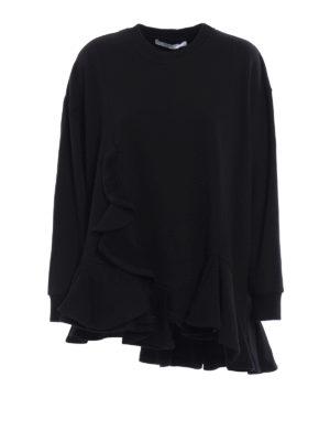 Givenchy: Sweatshirts & Sweaters - Ruched over sweatshirt