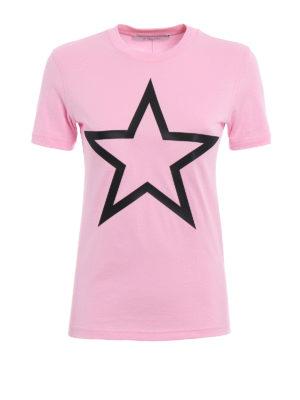 Givenchy: t-shirts - Macro star patch T-shirt