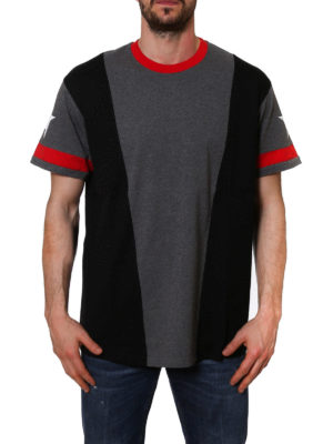 Givenchy: t-shirts online - Colour block over Tee