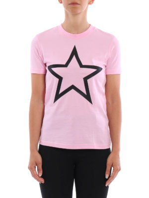 Givenchy: t-shirts online - Macro star patch T-shirt