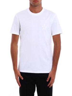 Givenchy: t-shirts online - Star print cotton T-shirt