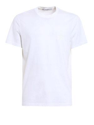 Givenchy: t-shirts - Star print cotton T-shirt