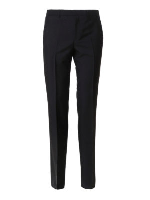 Givenchy: Tailored & Formal trousers - Wool and mohair blend trousers