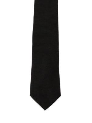 Givenchy: ties & bow ties online - Lurex star detail silk tie