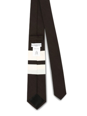 Givenchy: ties & bow ties online - Star and stripe print cotton tie