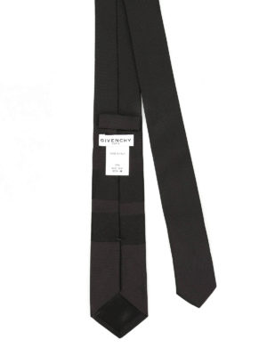 Givenchy: ties & bow ties online - Star and stripe silk tie