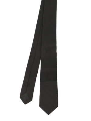 Givenchy: ties & bow ties - Star and stripe silk tie