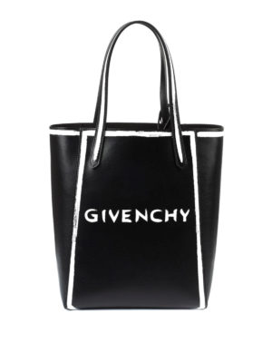 Givenchy: totes bags - Brushstroke-effect shopping bag