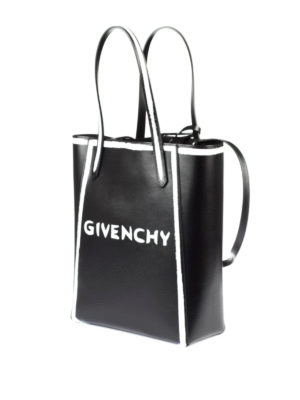 Givenchy: totes bags online - Brushstroke-effect shopping bag