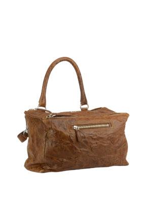 Givenchy: totes bags online - Pandora vintage leather medium bag