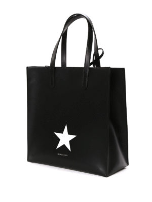 Givenchy: totes bags online - Stargate leather shopping bag