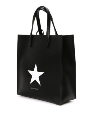 Givenchy: totes bags online - Stargate leather small shopping bag