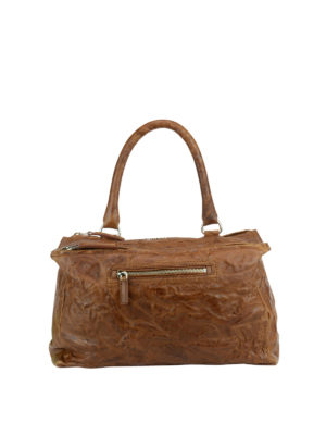 Givenchy: totes bags - Pandora vintage leather medium bag