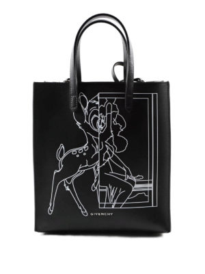 Givenchy: totes bags - Stargate leather  small tote bag