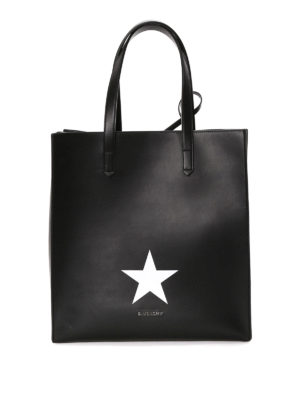 Givenchy: totes bags - Stargate leather shopping bag