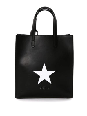 Givenchy: totes bags - Stargate leather small shopping bag