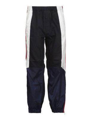GIVENCHY: pantaloni sport - Pantaloni da jogging a blocchi di colore