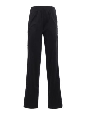 Givenchy: tracksuit bottoms - Logo detailed jogging pants