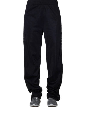 Givenchy: tracksuit bottoms online - Webbing black jogging pants