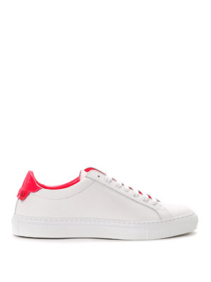 Givenchy: trainers - Contrasting heel leather sneakers