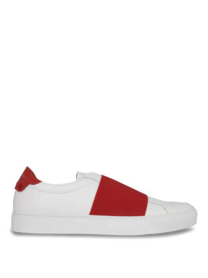 Givenchy: trainers - Elasticated strap leather slip-ons