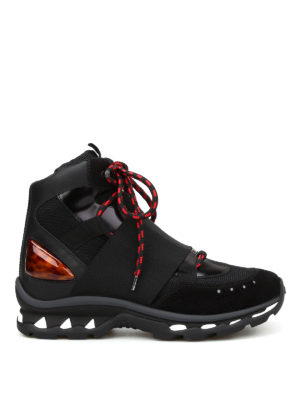 Givenchy: trainers - High top elastic strap sneakers