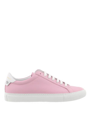 Givenchy: trainers - Knots pink leather sneakers