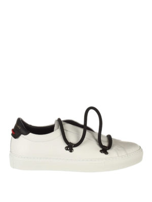 Givenchy: trainers - Matte leather low-top sneakers