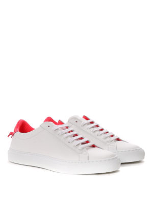 Givenchy: trainers online - Contrasting heel leather sneakers