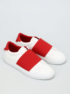 Givenchy: trainers online - Elasticated strap leather slip-ons