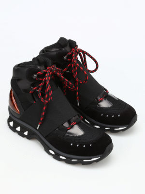 Givenchy: trainers online - High top elastic strap sneakers
