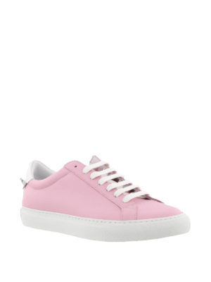Givenchy: trainers online - Knots pink leather sneakers