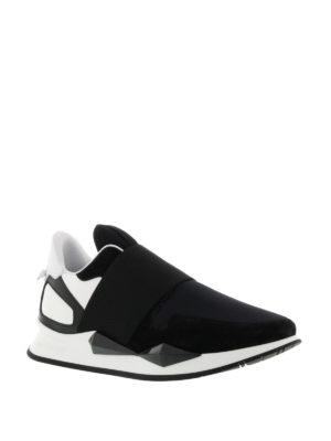 Givenchy: trainers online - Slip-on futuristiche multitessuto