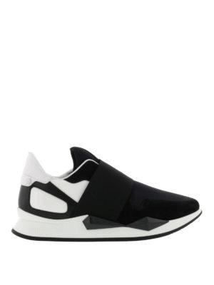 Givenchy: trainers - Slip-on futuristiche multitessuto