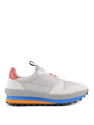 GIVENCHY: sneakers - Sneaker TR3 runner con talloncino rosso