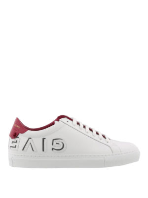 GIVENCHY: sneakers - Sneaker in pelle Urban Street con nodini