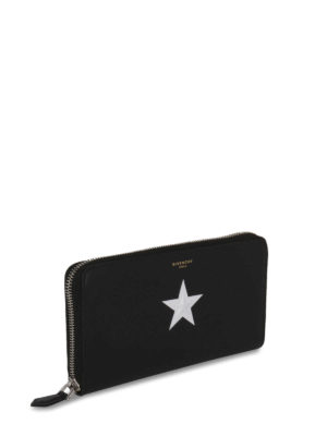 Givenchy: wallets & purses online - Embossed star leather wallet