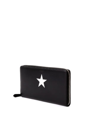 Givenchy: wallets & purses online - Star printed zip around wallet