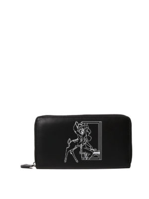Givenchy: wallets & purses - Pandora Bambi® zip around wallet