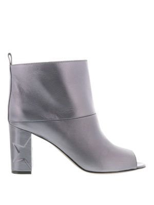 Golden Goose: ankle boots - Leonore open-toe ankle boots