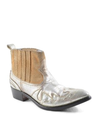 Golden Goose: ankle boots online - Clara leather ankle boots