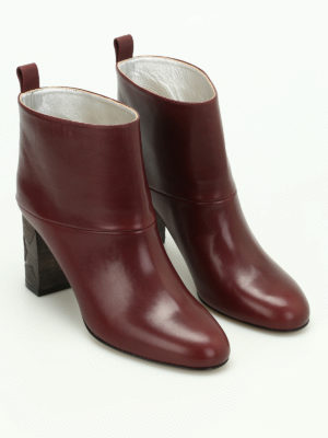 Golden Goose: ankle boots online - Greta smooth leather ankle boots