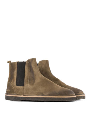 Golden Goose: ankle boots online - Portman suede ankle boots