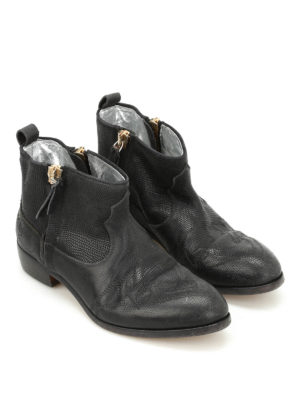 Golden Goose: ankle boots online - Zanja leather booties
