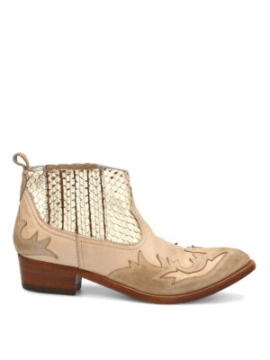 Golden Goose: ankle boots - Victory cowgirl boots