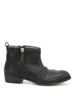 Golden Goose: ankle boots - Zanja leather booties