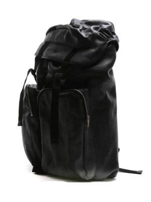 Golden Goose: backpacks online - Vintage effect leather big backpack